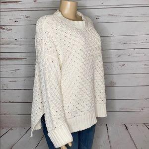 New A new day cream sweater size XXL